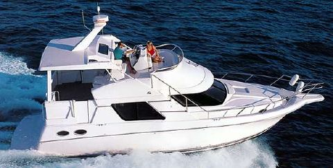 1999 Silverton 392 Motor Yacht Manufacturer Provided Image
