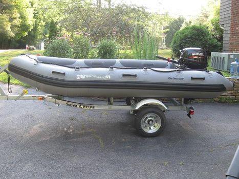 2011 Defender Inflatable 380