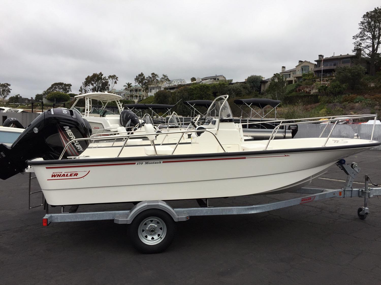 2016 Boston Whaler 170 Montauk