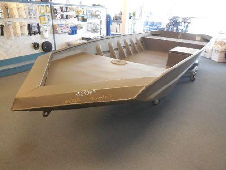 2016 Weldbilt 1648V TUNNEL HULL