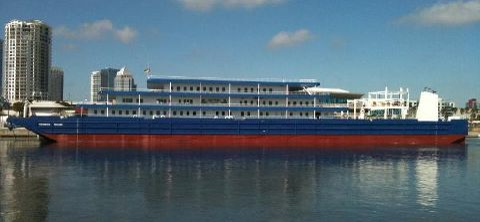 2009 Floating Boutique Hotel Barge