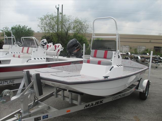 2015 Majek Bay Boat 16 Texas Skiff 16 Foot 2015 Motor