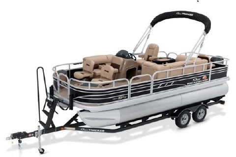2020 SUN TRACKER Fishin' Barge 20 DLX