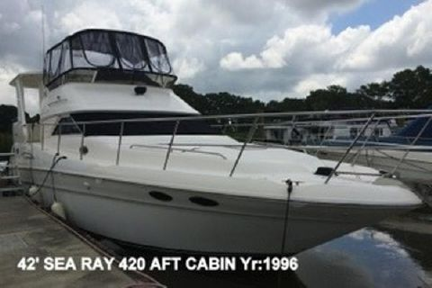 1996 Sea Ray 420 Aft Cabin 420-Sea-Ray-Aft-Cabin