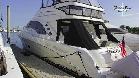 2007 Sea Ray 580 Sedan Bridge
