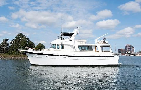 1977 Hatteras Long Range Cruiser