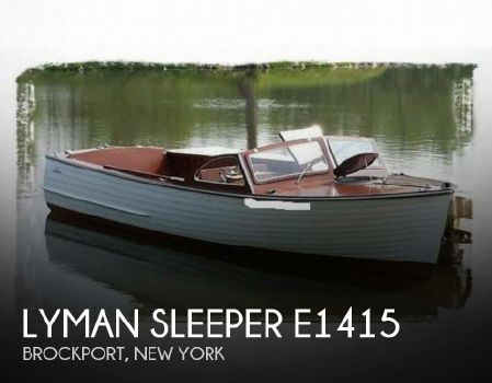 1959 Lyman Sleeper E1415 1959 Lyman Sleeper E1415 for sale in Brockport, NY