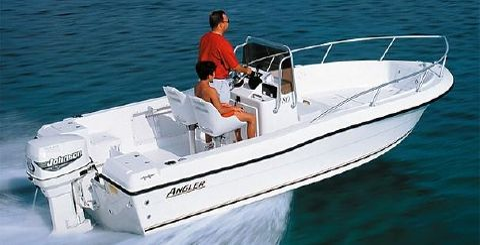 2002 Angler Boats 180f Manufacturer Provided Image: 180F