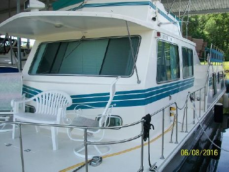 1995 Harbor Master 46 Wide Body House Boat
