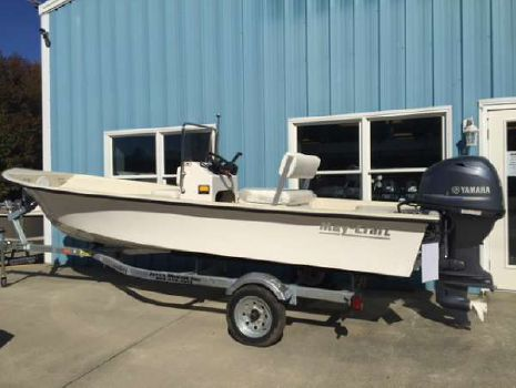 2016 May-craft 1700 Skiff