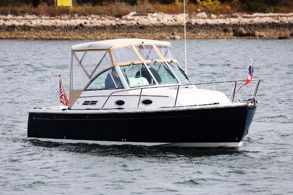 2006 Back Cove 26 starboard profile