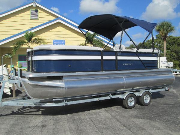 New 2019 Crest Pontoon Boats Ii 220 Slc Sanford Fl 32771