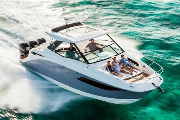New 2020 Sea Ray Sundancer 320 Outboard Miami Fl 33138 Boat Trader