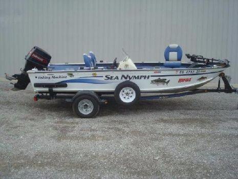 1998 Sea Nymph Fishing Machine