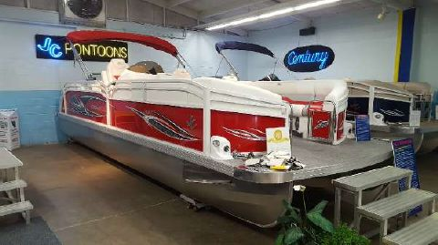 2016 J C Mfg Inc NepToon 25 TriToon Sport RFL