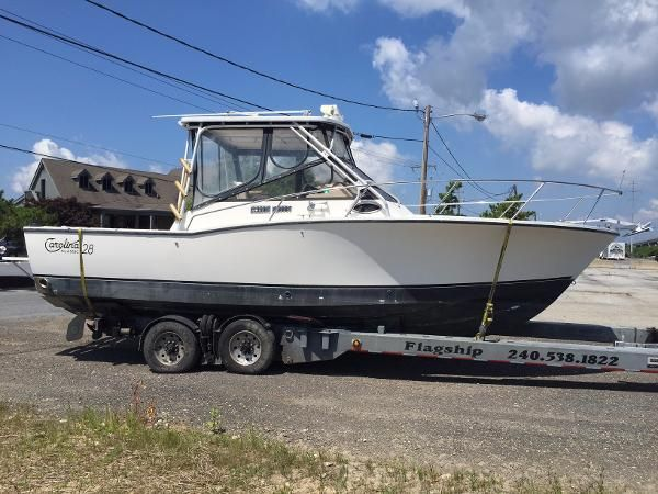 Carolina new and used boats for sale in maryland for Used fishing boats for sale in md