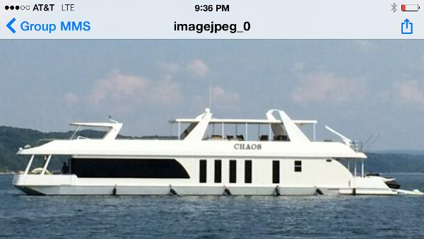 2010 STARDUST Houseboat