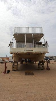 1988 Hansen houseboat
