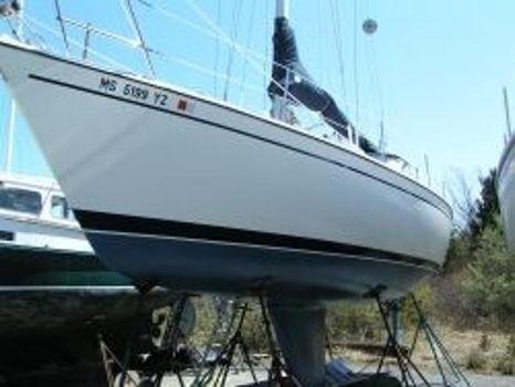 1985 Pearson 34 Sloop Port Bow