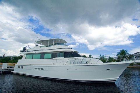 1998 Hatteras 65 Sport Deck Motor Yacht Profile