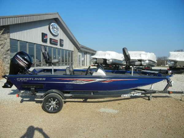 new 2018 crestliner vt 17 pittsburg mo 65724 boattrader com rh boattrader com