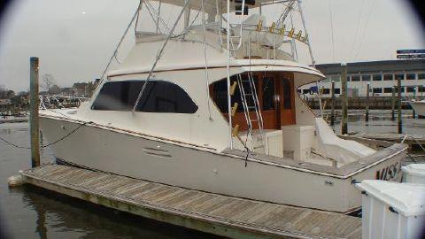 1990 Post Sport Fisherman Port