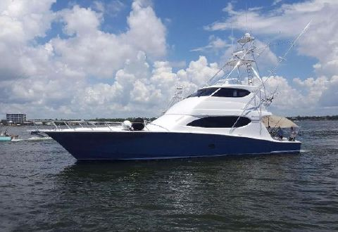 2006 Hatteras 68 Convertible Profile