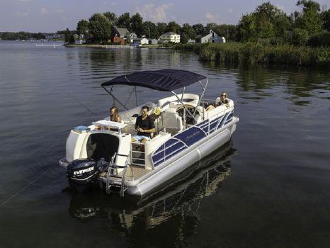 2014 Aqua Patio Fish Boats AP 220 DF