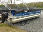 2017 LOWE SS 210 XL Triple Log Pontoon