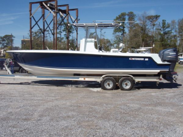2007 contender 25 open 28 foot blue 2007 contender motor for Used boat motors in louisiana
