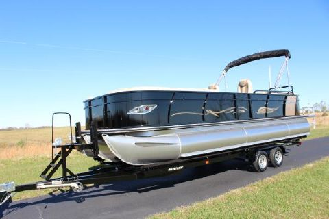2016 Bentley Boats Elite 253 tritoon
