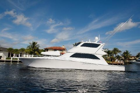 2006 Viking Yachts 74 Enclosed Bridge