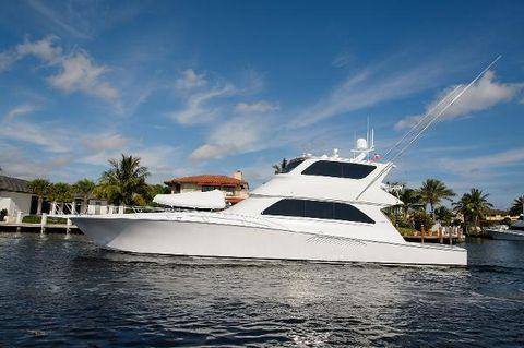 2006 Viking Yachts 74 Enclosed Bridge
