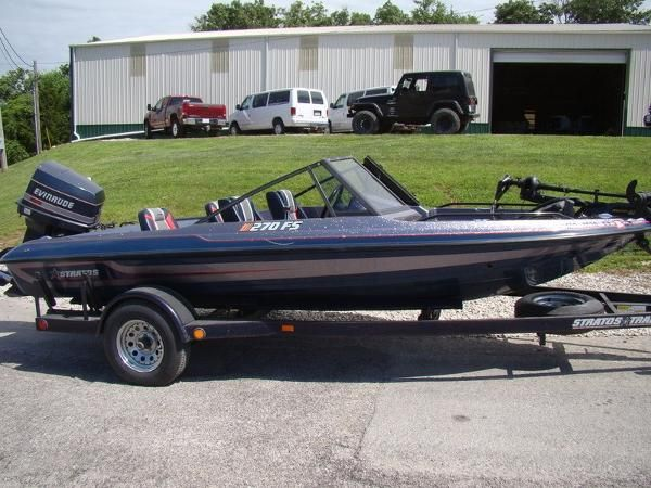 Stratos new and used boats for sale in mo for Fish and ski boats for sale craigslist