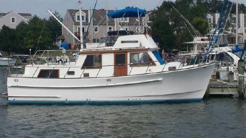 1983 Monk Trawler Starboard