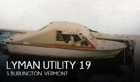 1989 Lyman Utility 19 1989 Lyman Utility 19 for sale in S Burlington, VT