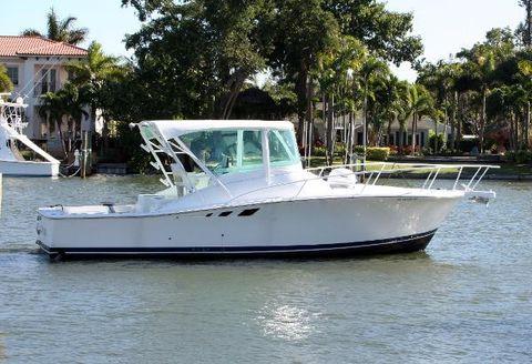 1996 Luhrs Custom 32 Open Starboard Profile