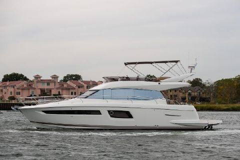 2015 Prestige 500 fly Port Side