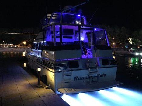 1989 Silverton 46 Motor Yacht Stern LED Illumination