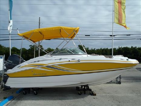 2016 Hurricane 2000 Sun Deck