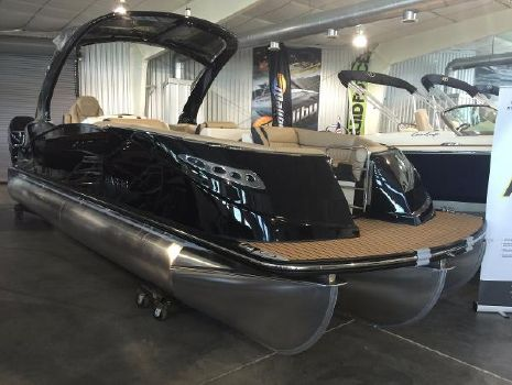 2016 Harris Crowne SL 250 SL - TRITOON Twin Engine