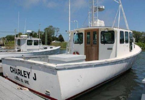 1998 Northern Bay 36 Downeast Tuna Boat