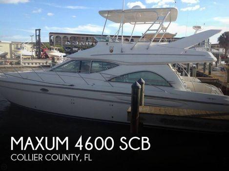 1999 Maxum 4600 SCB