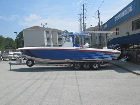 2003 Fountain 34 Sportfish CC Open Bow