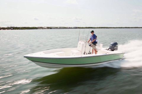 2018 Cobia Boats 21 Bay