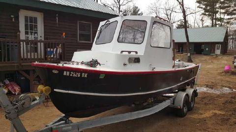 1983 Eastern Boats 22 Lobsterman