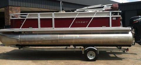 2013 Crest Pontoon Boats Wave Fish 210