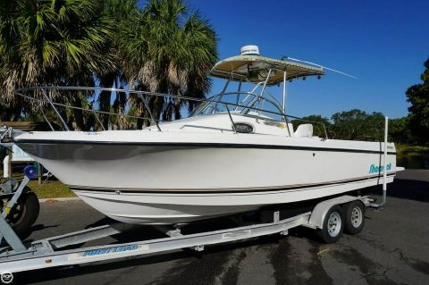 1998 Shamrock 246 Walkaround 1998 Shamrock 246 Walkaround for sale in Seminole, FL