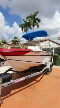 1986 Sport-Craft 21 open fisherman