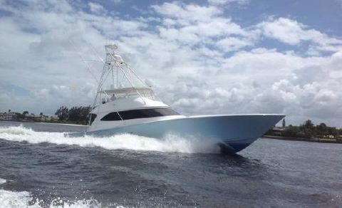 2010 Viking 82 Convertible 82' Viking 2010 - Profile